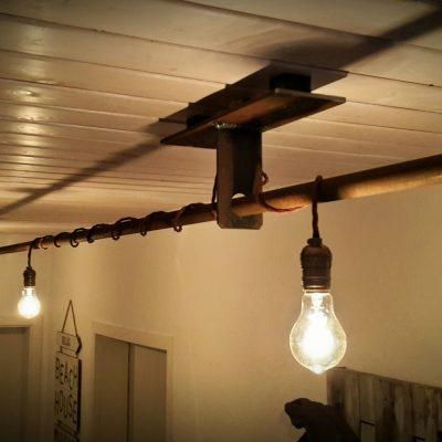 Deckenlampe 3m, Edison Beleuchtung