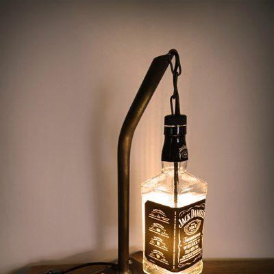 Hängelampe, 45 cm hoch, 4 Watt LED warmweiss, Kabelschalter